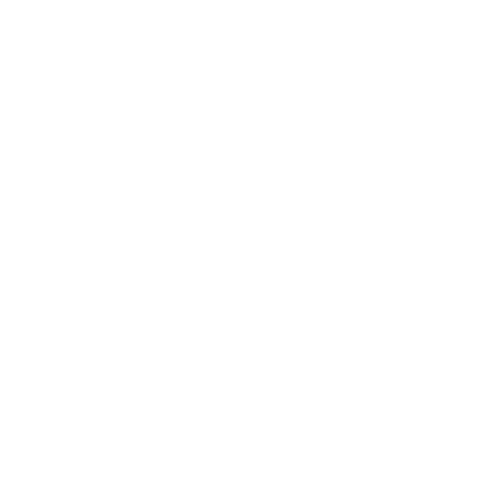 Logo Locanda Cinque Pani e Due Pesci, wireframe bianco